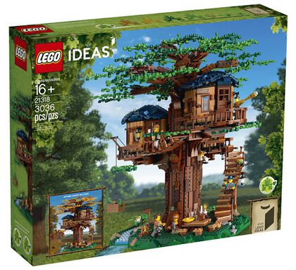 LEGO Ideas La casa del árbol (21318)