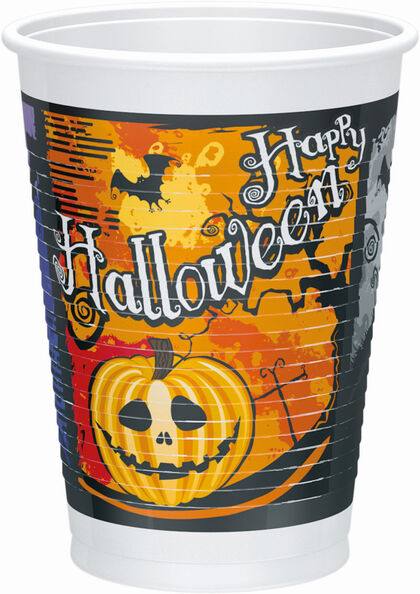 Vasos Halloween 10 unidades