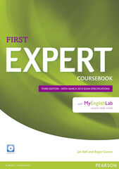 EXPERT FIRST THIRD EDITION COURSEBOOK+MYLAB Pearson 9781447962014