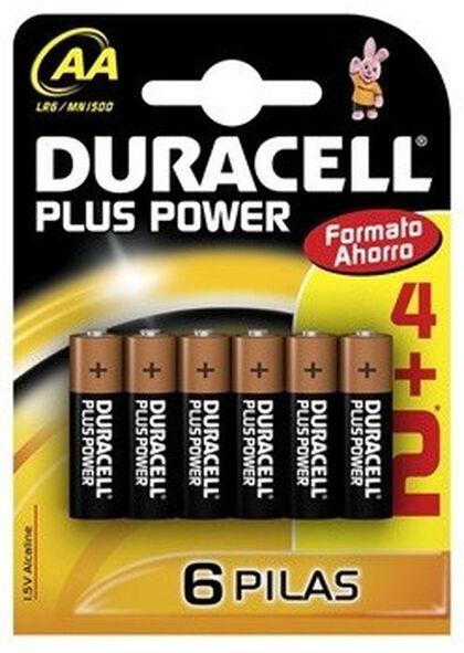 PiLA DURACELL LR-06 PLUS POWER 4 UN.