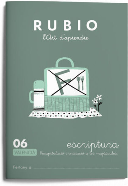 ESCRIPTURA 06 INFANTIL Rubio 9788416744756