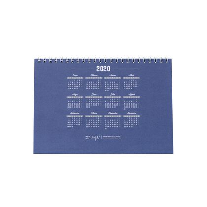 Calendari Mr.Wonderful Bullet 2020 Tu y yo... Castellà