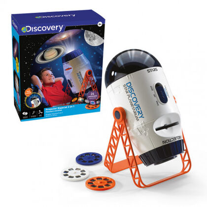 Juego didáctico World Brands Proyector espacial Discovery