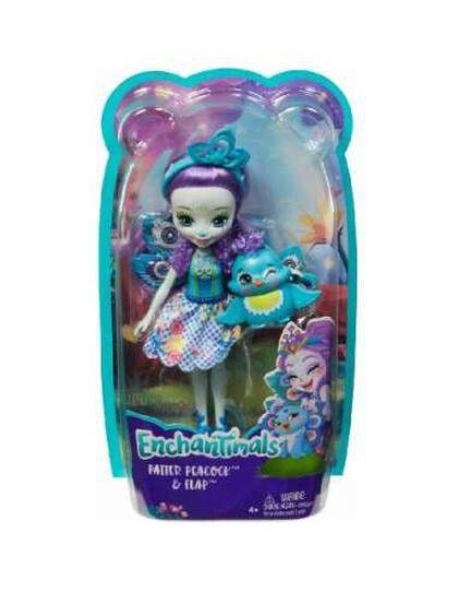 Nina Mattel Enchantimals Patter Peacock