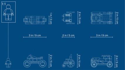 LEGO Classic Totxos sobre rodes (10715)