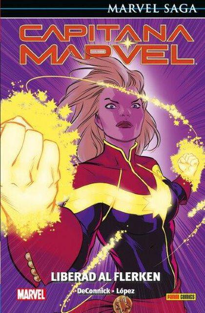 Capitana Marvel 5. Liberad al Flerken