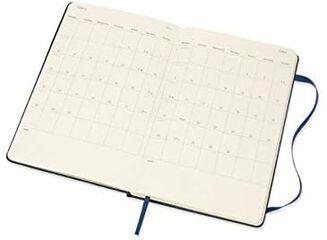 Agenda Moleskine  Cuaderno Semana Vistal L Semana Vista Inglés Azul (13x21 cm)