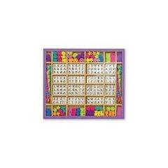 Abaloris de madera - Letras (200 piezas)