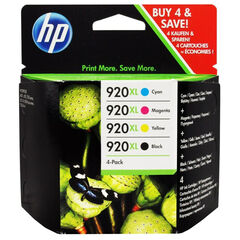 Cartucho HP Recambio Original 62XL 4 Colores