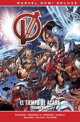Marvel Now! Deluxe. Los Vengadores de Jonathan Hickman 9. El tiempo se acaba. Segunda parte