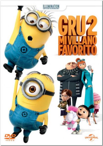 GRU 2: MI VILLANO FAVORITO ED.2017 DVD
