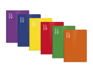 Libreta Escolofi Folio Naranja