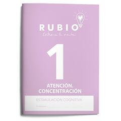 ESTCOG 1 ATENCIÓN Rubio 9788485109982