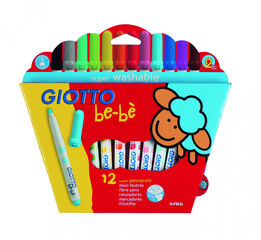 Rotuladores Giotto Be-bè - 12 colores