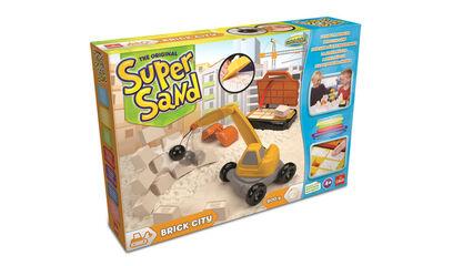 Juego de modelar Goliath Super sand construcción