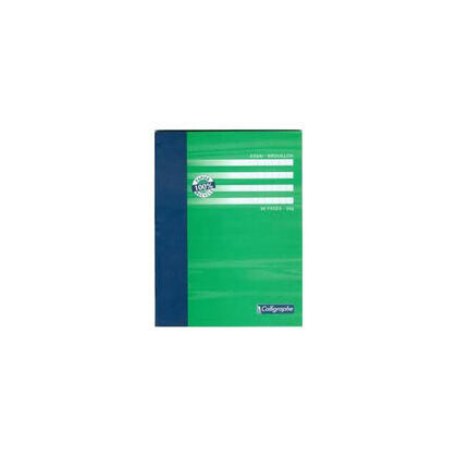 Llibreta grapada Clairefontaine Calligraph Paper Reciclat A5 48F