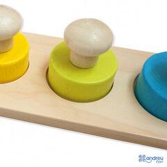 Encaje Andreu Toys Cuadrados Maxi Pivote