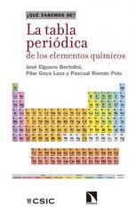 La Tabla periódica de los elementos quím