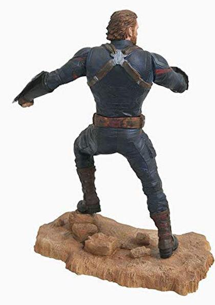 Capitan America Estatua Pvc 23 Cm