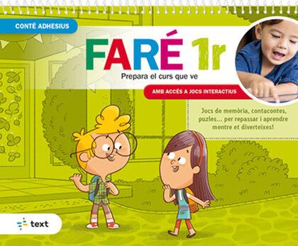 QUADERN D'ESTIU FARÉ 1R. Text 9788441233447