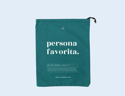 Bolsa regalo UO Persona favorita