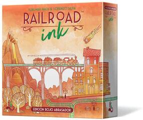 Railroad Ink: Rojo Abrasador