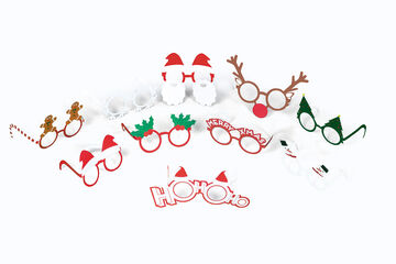 Accesorios Photocall Gafas - Navidad