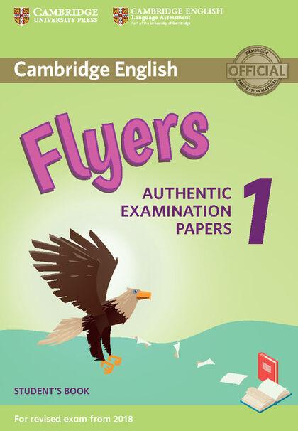 CUP YLE Flyers 1/SB/exam18 Cambridge 9781316635919