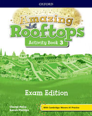 AMAZING ROOFTOPS 3 AB EXAM PK Oxford 9780194121736