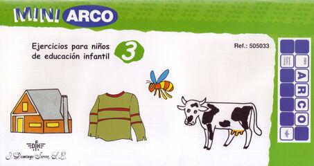 MINI ARCO Ejercicios para niños en educación infantil 3 9788492490028