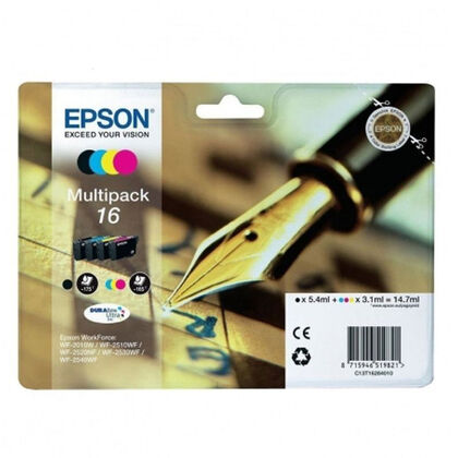 Cartucho Epson Original 16 multipack