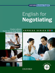 OUP English for Negotiating Oxford 9780194579506