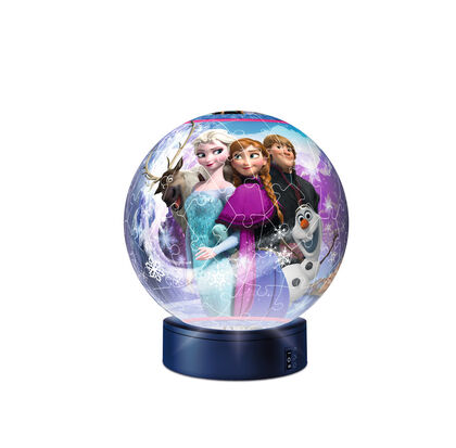 Puzzle Frozen Luz esférica