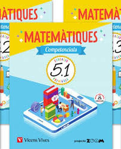 MATEMATIQUES COMPETENCIALS 4 TRIM (ZOOM) Vicens Vives 9788468260921