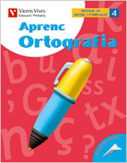 APRENC ORTOGRAFIA 4 4t PRIMÀRIA Vicens Vives 9788431680442