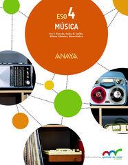Música/16 ESO 4 Anaya Text 9788469811399