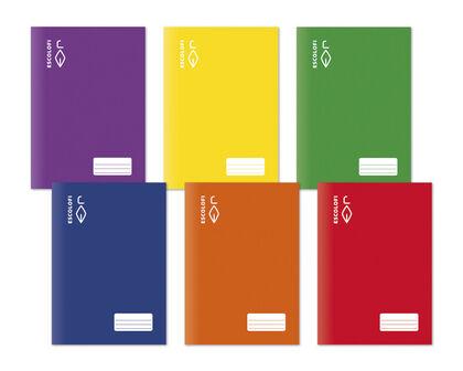 Libreta DIN A4 16 hojas 70 gr liso rojo