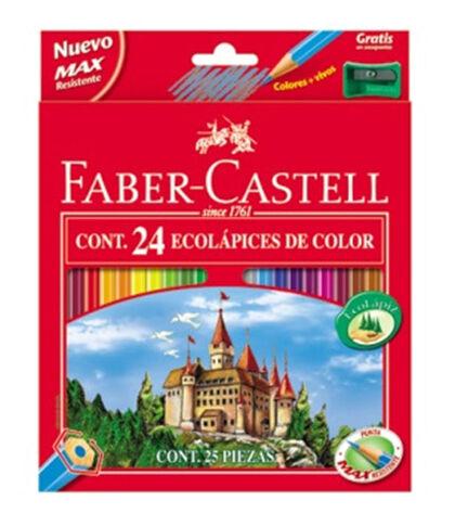 Lápiz de coloresFaberCastell Ecológico 24U