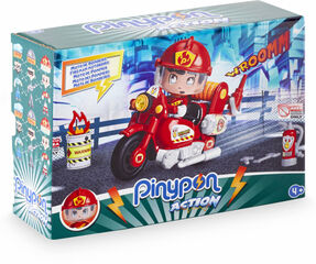 Pinypon Action Moto bombero