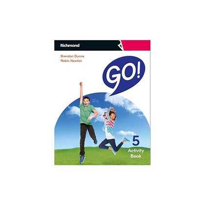 GO! 5 ACTIVITY PACK Richmond Text 9788466831369