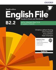ENGLISH FILE B2.2 SBWB W/O KEY 4ED Oxford 9780194039437