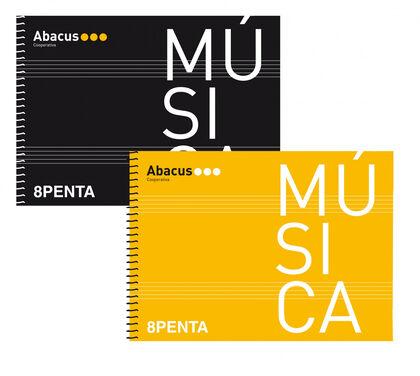 Libreta espiralAbacusMúsica A5 20F