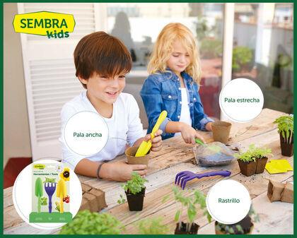 Juego de jardinería Siembra Herramientas huerto