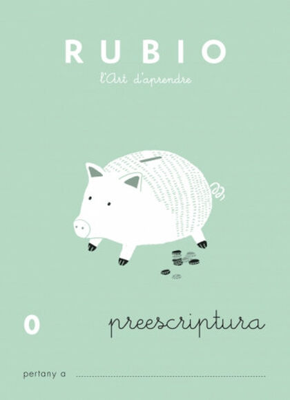 PREESCRIPTURA 0 INFANTIL Rubio 9788489773400