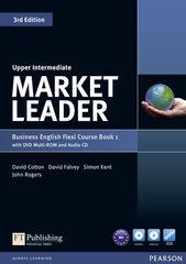 PEAR Market Leader 1 UPP/Flexi Pearson 9781292126142