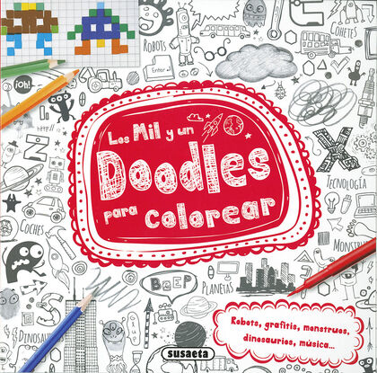 Los mil y un doodles para colorear - 2