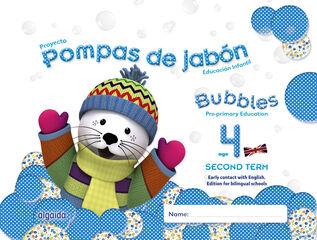 BUBBLES 2 INFANTIL 4 AÑOS Algaida 9788490670668