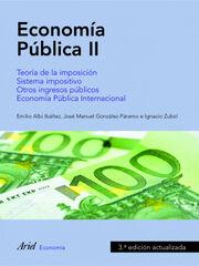 Economía pública II, 3a ed