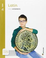 Latín/Interpreta/16 ESO 4 Santillana Text 9788483056462