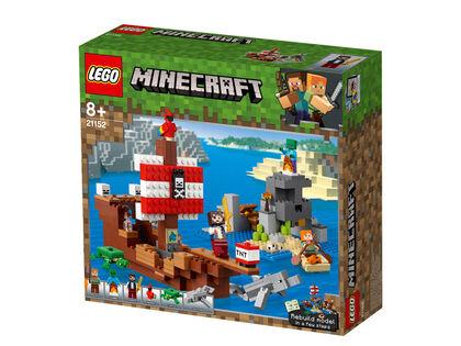 LEGO Minecraft Aventura barco pirata (21152)